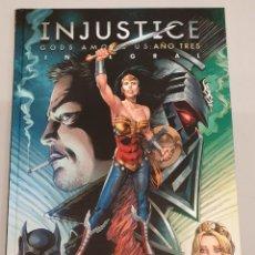 Cómics: INJUSTICE : GODS AMONG US AÑO TRES INTEGRAL / DC - ECC. Lote 158657970