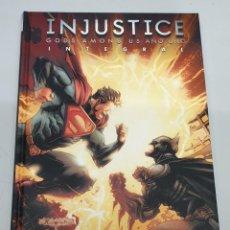 Cómics: INJUSTICE : GODS AMONG US AÑO UNO INTEGRAL / DC - ECC. Lote 158658282
