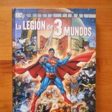 Cómics: LA LEGION DE 3 MUNDOS - CRISIS FINAL - GEOFF JOHNS, GEORGE PEREZ - DC - PLANETA - TAPA DURA (8X). Lote 158667170