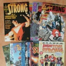 Cómics: TOM STRONG 1ª EDICIÓN COMPLETA 14 NÚMEROS + 1 AVENTURAS FIRMA ARTHUR ADAMS. Lote 158895362