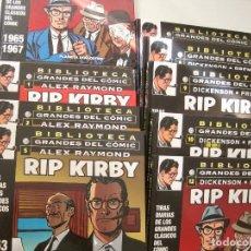 Comics : RIP KIRBY--BIBLIOTECA GRANDES DEL COMIC-NUEVA-PLANETA-- TIRAS DIARIAS--DICKENSON PRENTICE. Lote 159234918