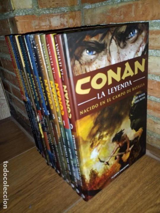 Cómics: CONAN LA LEYENDA COMPLETA 13 TOMOS IMPECABLES PLANETA del 00 al 12 - Foto 2 - 159294998