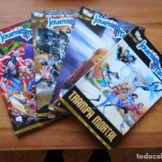 Cómics: JOVENES TITANES VOLUMEN 3 SEMI-COMPLETA - Nº 1, 2, 3 Y 4 - 4 TOMOS - DC - PLANETA (GD). Lote 159347334