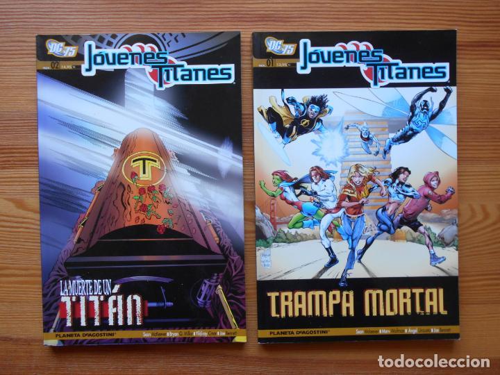 Cómics: JOVENES TITANES VOLUMEN 3 SEMI-COMPLETA - Nº 1, 2, 3 Y 4 - 4 TOMOS - DC - PLANETA (GD) - Foto 2 - 159347334