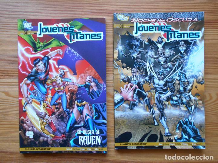Cómics: JOVENES TITANES VOLUMEN 3 SEMI-COMPLETA - Nº 1, 2, 3 Y 4 - 4 TOMOS - DC - PLANETA (GD) - Foto 3 - 159347334