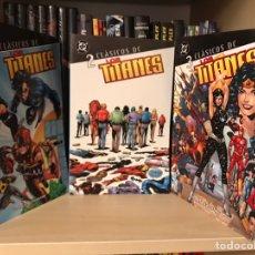 Cómics: CLASICOS DC LOS TITANES 1 AL 3 COMPLETA PLANETA. Lote 159429240