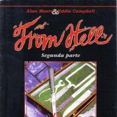 Cómics: FROM HELL SEGUNDA PARTE (ALAN MOORE / EDDIE CAMPBELL) - PLANETA - OFM15. Lote 159853302