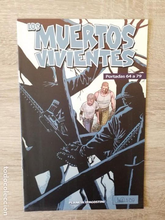 PORTADAS LOS MUERTOS VIVIENTES DEL 64 AL 79 EXCELENTE ESTADO (Tebeos y Comics - Planeta)