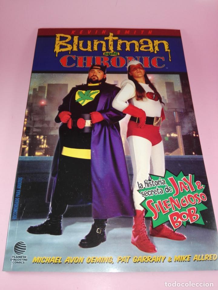 COMIC-BLUNTMAN AND CRHONIC-KEVIN SMITH-2001-NUEVO-VER FOTOS (Tebeos y Comics - Planeta)