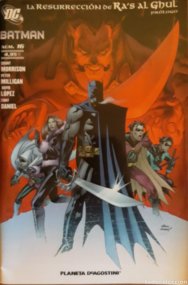 COMIC N°16 BATMAN LA RESURRECCIÓN DE RA'S AL GHUL 2008 (Tebeos y Comics - Planeta)