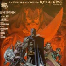Cómics: COMIC N°16 BATMAN LA RESURRECCIÓN DE RA'S AL GHUL 2008. Lote 160730745