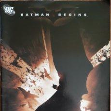 Cómics: COMIC BATMAN BEGINS ADAPTACIÓN OFICIAL DE LA PELÍCULA 2005. Lote 160776233