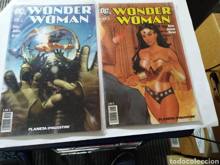 WONDER WOMAN VOL. 1 LOTE DE 6 N° 1-5-7-10-12-14 (Tebeos y Comics - Planeta)