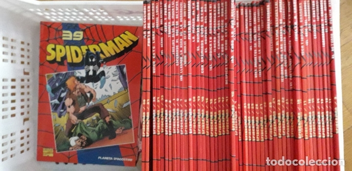 SPIDERMAN. PLANETA. SERIE INCOMPLETA (47 NÚMEROS) (Tebeos y Comics - Planeta)