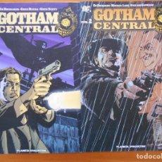 Cómics: GOTHAM CENTRAL Nº 1 Y Nº 2 - DC - PLANETA (I2). Lote 161654362