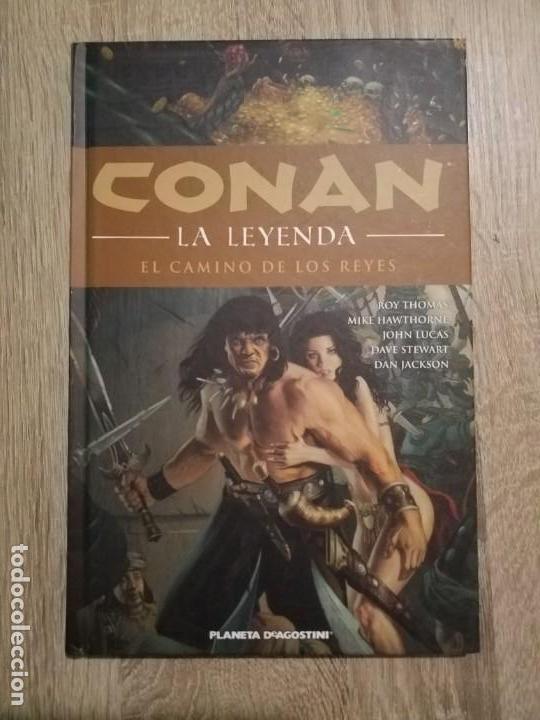 CONAN LA LEYENDA 11 MUY BUEN ESTADO (Tebeos y Comics - Planeta)