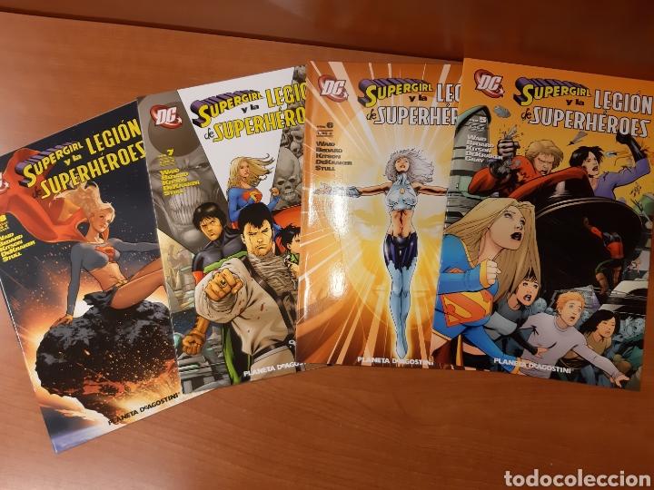 Cómics: Supergirl y la Legión de Superhéroes 1 al 11 completa + La búsqueda de Cósmico ¡Impecables! - Foto 2 - 162623398