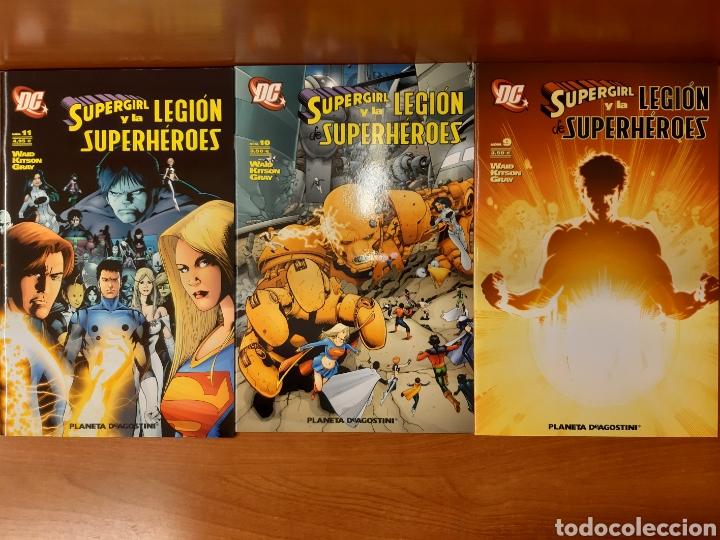 Cómics: Supergirl y la Legión de Superhéroes 1 al 11 completa + La búsqueda de Cósmico ¡Impecables! - Foto 3 - 162623398