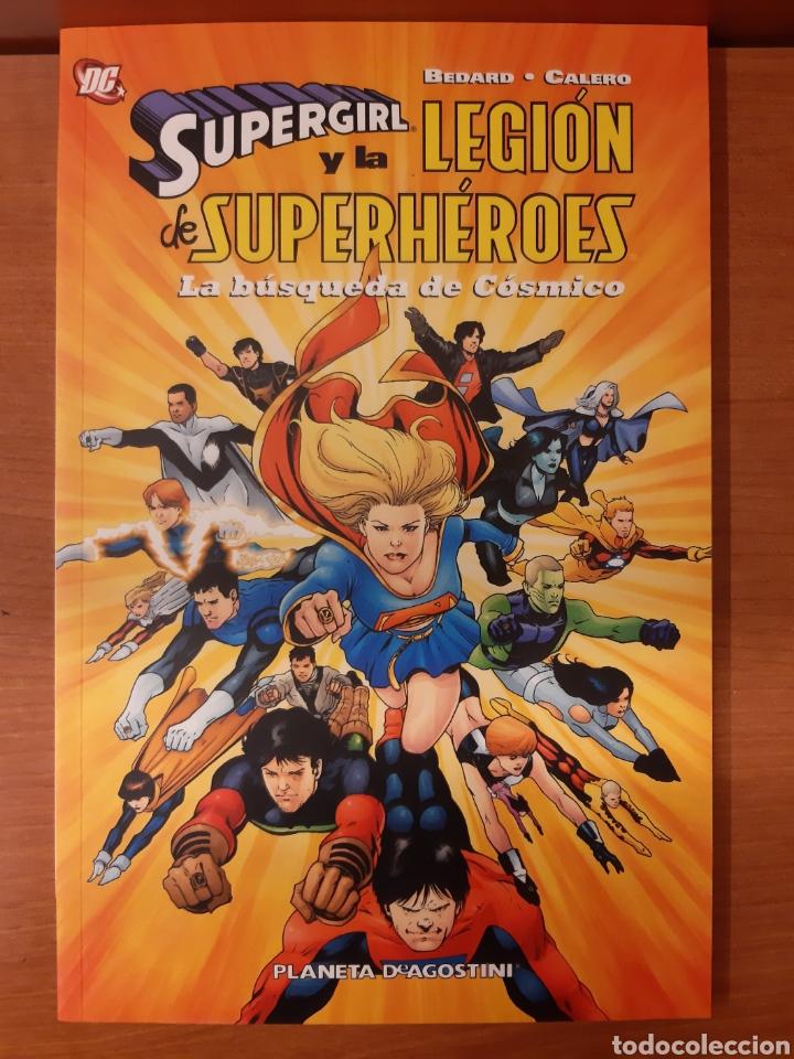 Cómics: Supergirl y la Legión de Superhéroes 1 al 11 completa + La búsqueda de Cósmico ¡Impecables! - Foto 4 - 162623398