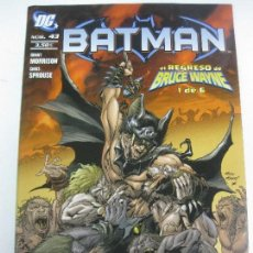 Cómics: BATMAN DC Nº 43. DC PLANETA DEAGOSTINI. Lote 162696006
