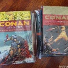 Cómics: CONAN LA LEYENDA 0-12 COMPLETA. Lote 162812720