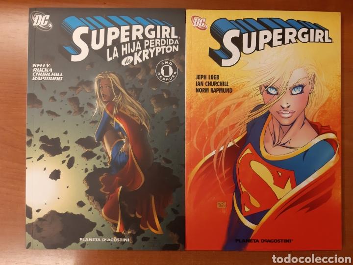 SUPERGIRL 1 AL 7 COMPLETA ¡IMPECABLE! (Tebeos y Comics - Planeta)