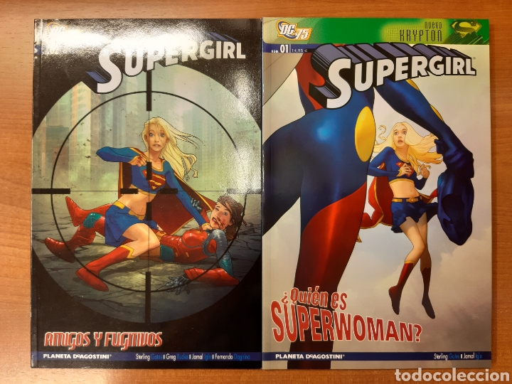 Cómics: Supergirl 1 al 4 completa ¡Impecable! - Foto 1 - 162826514