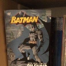 Cómics: BATMAN SILENCIO JIM LEE INTEGRAL. TAPA DURA. Lote 162905377