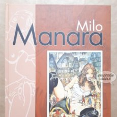 Cómics: BIBLIOTECA MILO MANARA 23 - GULLIVERIANA - CARTONÉ - PLANETA - JMV. Lote 163080270