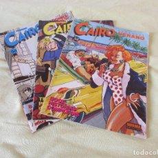 Cómics: CAIRO -- NORMA EDT.- 3 COMICS - 52 - 53 - 54 . Lote 164620914