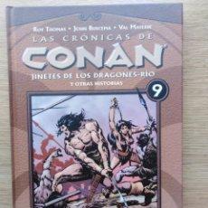 Cómics: LAS CRONICAS DE CONAN. TOMO 9. PLANETA. Lote 165836266