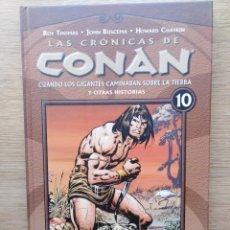 Cómics: LAS CRONICAS DE CONAN. TOMO 10. PLANETA. Lote 165836386