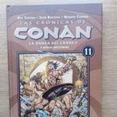Cómics: LAS CRONICAS DE CONAN. TOMO 11. PLANETA. Lote 165836470