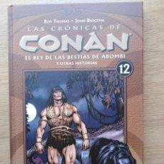 Cómics: LAS CRONICAS DE CONAN. TOMO 12. PLANETA. Lote 165836530