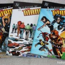 Cómics: LOS TITANES 1, 2, Y 3 ¡COMPLETA! ( DEVIN GRAYSON )-CLASICOS DC-. Lote 166072410
