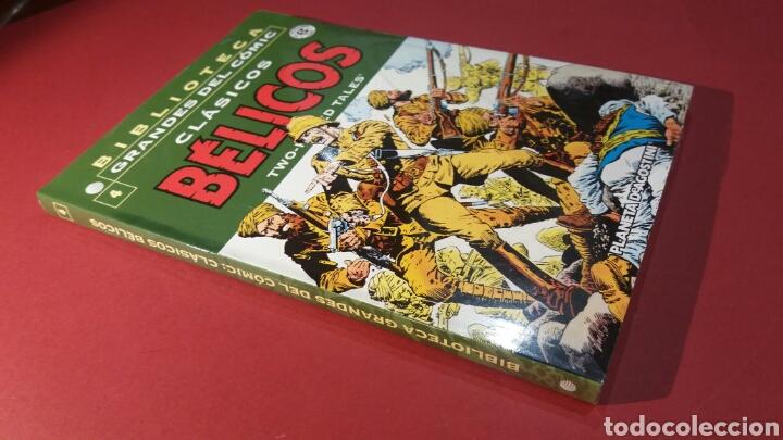 CLASICOS BELICOS 4 EXCELENTE ESTADO PLANETA BIBLIOTECA GRANDES DEL COMIC (Tebeos y Comics - Planeta)