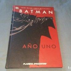 Cómics: BATMAN AÑO UNO MILLER MAZZUCCHELLI LEWIS PLANETA 2008. Lote 166417850