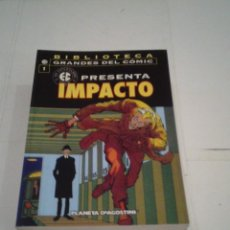 Cómics: BIBLIOTECA GRANDES DEL COMIC - EC PRESENTA - 7 TOMOS - COMPLETA - MUY BUEN ESTADO - GORBAUD. Lote 166661486