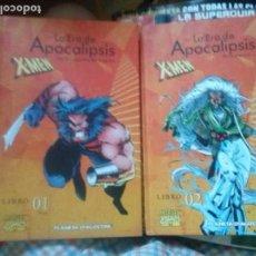 Cómics: LA ERA DE APOCALIPSIS X-MEN LIBRO 1 Y 2, LA BUSQUDA DE LA LEGION Y PRINCIPIOS. Lote 166933608