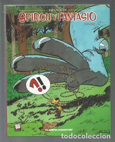 SPIROU Y FANTASIO 5 ( 1956-1958), 2004, PLANETA DEAGOSTINI, IMPECABLE (Tebeos y Comics - Planeta)