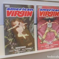 Cómics: AMERICAN VIRGIN LOTE Nº 1 Y 2 - VERTIGO PLANETA - OFERTA. Lote 167533092