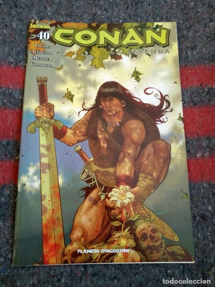 CONAN LA LEYENDA Nº 40 (Tebeos y Comics - Planeta)