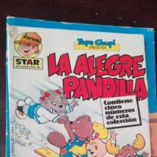 Cómics: LA ALEGRE PANDILLA. TOPE CHUPI. CON LOS 5 PRIMEROS NÚMEROS. RÚSTICA. BUEN ESTADO. Lote 168577828