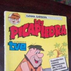 Cómics: LOS PICAPIEDRA 5 PRIMEROS NUMEROS. Lote 168578240
