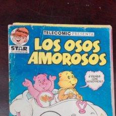 Cómics: TELECOMIC PRESENTA LOS OSOS AMOROSOS Y TAMBIEN LOS PEQUEÑECOS Nº 1 STAR COMICS - FORUM ALEVIN. Lote 168578664