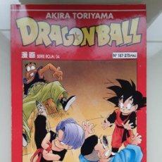 Cómics: DRAGON BALL SERIE ROJA N° 34 (187) - BOLA DE DRAGON - AKIRA TORIYAMA. Lote 219235540