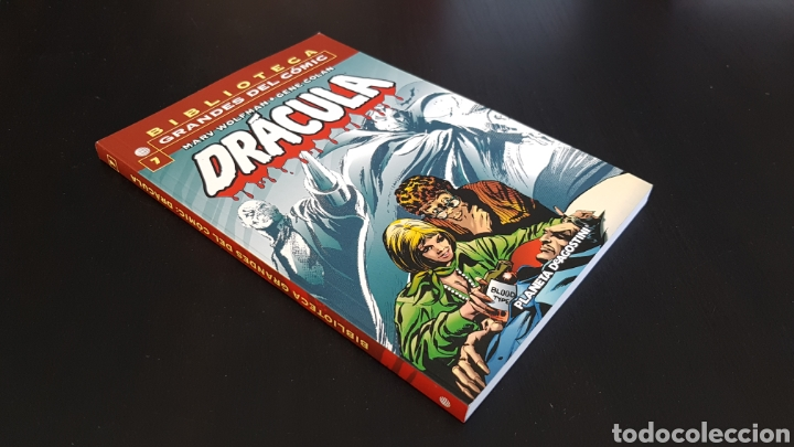 DE KIOSKO DRACULA 7 BIBLIOTECA GRANDES DEL COMIC PLANETA (Tebeos y Comics - Planeta)