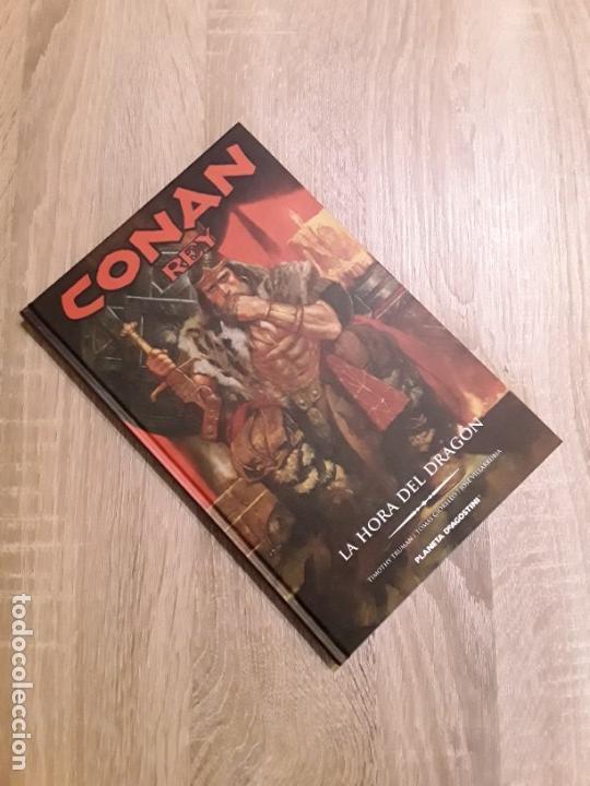 Cómics: CONAN REY LA HORA DEL DRAGÓN EXCELENTE ESTADO AGOTADO Y DESCATALOGADO - Foto 3 - 168997273