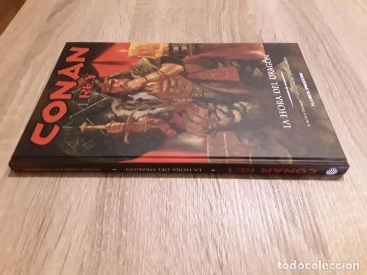 CONAN REY LA HORA DEL DRAGÓN EXCELENTE ESTADO AGOTADO Y DESCATALOGADO (Tebeos y Comics - Planeta)