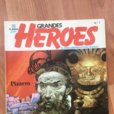 Cómics: GRANDES HEROES - PIZARRO - PLANETA Nº 7 -1981. EL DESCUBRIMIENTO DEL MUNDO. Lote 169077324